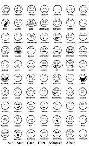 feeling faces coloring pages eson me