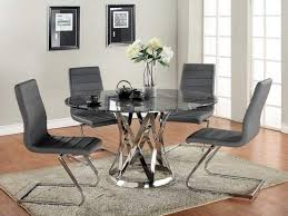 grey leather dining room chairs descargas mundiales com