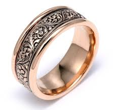 engraved rings gold images Black rhodium plating adding that quot pop quot to your jewelry jpg