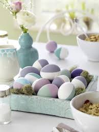 Easter Egg Table Decorations by Easter Eggs Table Decorations Easter Table Setting Ideas Easter