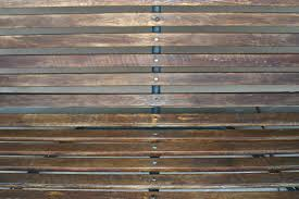 interior elegant dark brown solid wood slats for walls for wall