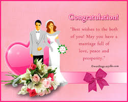 marriage congratulations message wedding congratulation messages wordings and messages