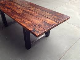 Distressed Kitchen Tables Kitchen Narrow Dining Table Dining Room Table With Bench Black