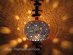 Coconut Shell Chandelier Decorative Lighting Collection On Ebay