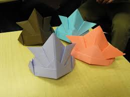 Origami Pets - origami hat for pets 24 steps with pictures