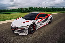 volkswagen sports car in avengers watch the acura nsx take on the pikes peak hill climb video