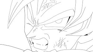 good drawings of dragon ball z colouring pages 4 dragon ball z