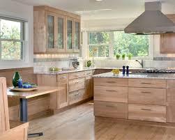 Red Birch Cabinets Houzz - Birch kitchen cabinet