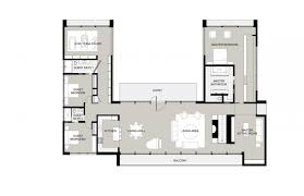 u shaped house plans with pool in middle u shaped ranch house plans u shaped with pool courtyard modern one