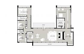 u shaped ranch house plans u shaped ranch house plans u shaped with pool courtyard modern one