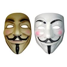 Halloween Costume Vendetta Mask Guy Fawkes Anonymous Halloween Party Masks