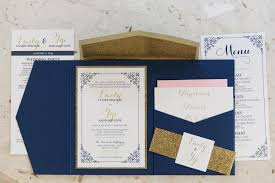 pocket invitation custom pocket wedding invitations