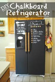 Chalk Paint Ideas Kitchen by 24 Things I Didn U0027t Know You Could Paint Diy Chalkboard
