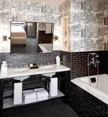 nyc small bathroom ideas 30 black and white bathroom tiles in a small bathroom ideas and pictures