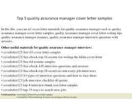 sample quality assurance resume top 5 quality assurance manager