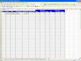 Excel Sales Tracking Template Employee Vacation Accrual Spreadsheet Spreadsheets