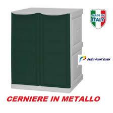 armadietto resina armadio in resina per esterni cerniere in acciao cm l 70 p 39 h 90