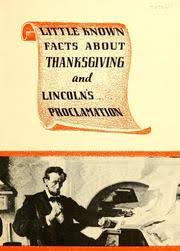 known facts about thanksgiving and lincoln s proclamation