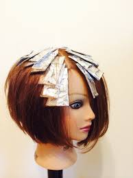 where to place foils in hair gatsby foil placement danny soliz bob series graduation