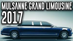 bentley limo 2017 bentley mulsanne grand limousine by mulliner ultra luxurious