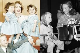 better davis photos joan crawford and bette davis with their children vanity