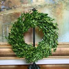 large boxwood wreath wayfair