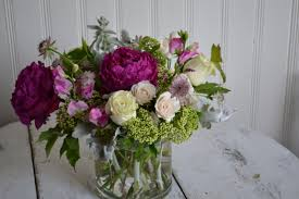 peony arrangement spring peony arrangement in somerville ma bow street flowers