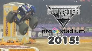 monster truck jam houston 2015 monster jam 2015 relient nrg stadium houston tx highlights 1 31 15