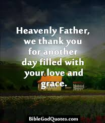 biblegodquotes heavenly we thank you for