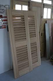 fabriquer porte de grange portes à claire voie