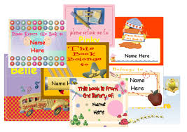 label design templates png free book labels for kids to personalize printable templates