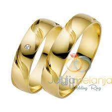 cincin lapis emas cincin pernikahan yerisa perak lapis emas sepasang