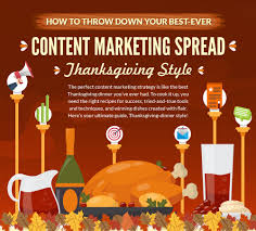 how to throw your best content marketing spread infographic
