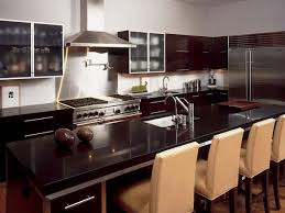 Granite Countertops With Cherry Cabinets Kitchen Black Kitchen Countertop Capitol Granite Countertops