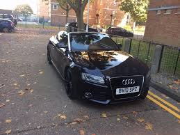 first audi great deal u0027 u0027 audi a5 convertible black s line special edition