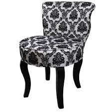 Black And White Accent Chair 31 H Black White Damask Accent Chair Free Shipping Today