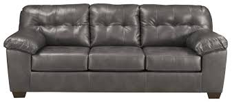 Tufted Faux Leather Sofa Faux Leather Sofa Sleeper W Tufting By Signature Design By