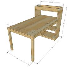 White Children S Desk by Interesting Childrens Desk Plans And How To Make A Kids Desk With