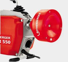 Julius Bad Helmstedt R550 Rohrreinigungsmaschine Mit Führungsschlauch Spülen Und
