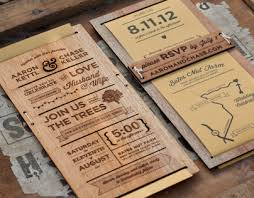 wood wedding invitations wedding invitation on behance