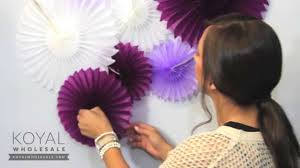 hanging paper fans how to paper pinwheels backdrop for weddings and dessert tables