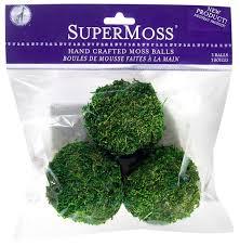 Moss Vase Filler Amazon Com Super Moss 21657 Sheet Moss Ball Fresh Green 6 Inch
