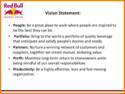 6 personal vision statement template case statement 2017