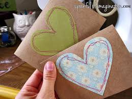 handmade greeting card send out spoonful of imagination