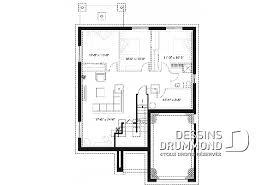 plan maison plain pied 2 chambres garage plan de plain pied et 1 étage avec garage dessins drummond