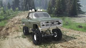 K5 Chevy Blazer Mud Truck - chevrolet k5 blazer m1008 03 03 16 for spin tires