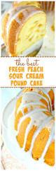various the best peach pound cake u2013 a buttery tender super moist