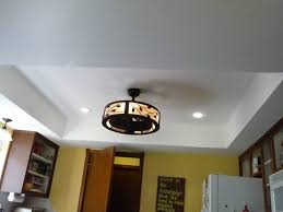 Fluorescent Light Fixtures For Kitchen by Replace Fluorescent Light Fixture In Kitchen Captivating