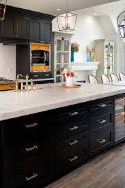 white kitchen cabinets with black quartz 39 black kitchen cabinet ideas entering the side