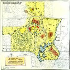 University Of Arizona Map Maps Of Papago Park In Phoenix Arizona
